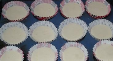 Бисквитные кексики - фото шаг 7