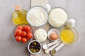 Греческий пирог с козьим сыром - фото шаг 1