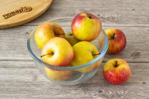 Яблоки моченые с солодом - фото шаг 2