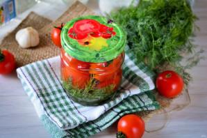 Сладкие помидоры с луком на зиму - фото шаг 8