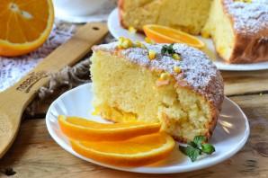 Нежный пирог с апельсинами - фото шаг 11