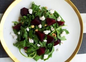 Салат из свеклы и рукколы - фото шаг 6