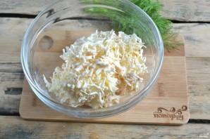 Лаваш с сыром и укропом - фото шаг 2