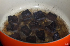 Овощное рагу с мясом - фото шаг 3