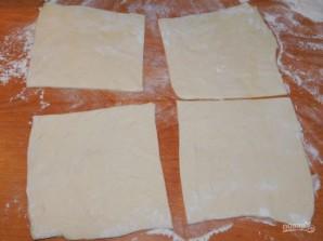 Грибные слойки с сыром - фото шаг 1
