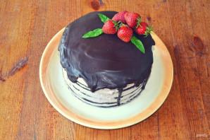 "Торт ""Темный Ларри"" - фото шаг 19"