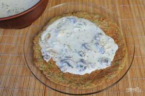 Торт из кабачков с грибами - фото шаг 10