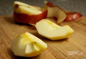 Оладьи с яблоками на молоке - фото шаг 5