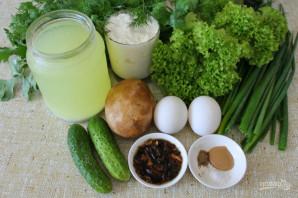 Грибной холодный суп - фото шаг 1