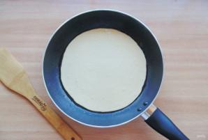 Заливной пирог на сковороде