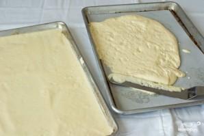 Бисквитный торт с шоколадом - фото шаг 9