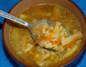 Суп с перловкой в мультиварке - фото шаг 8