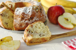 Кекс с фруктами - фото шаг 10