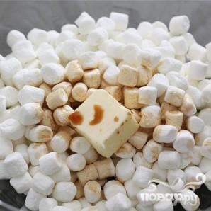 Пирожные с воздушным рисом и зефиром - фото шаг 1