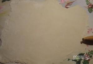 Ватрушки из слоеного бездрожжевого теста с творогом - фото шаг 5