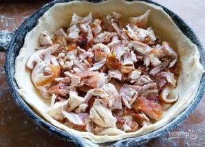 Слоеный пирог с мясом и сыром - фото шаг 1