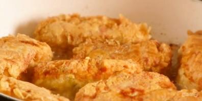 Куриные рулетики на сковороде - фото шаг 4