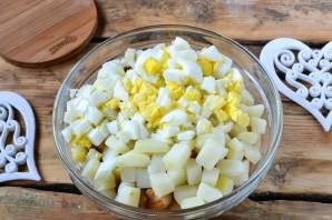 Праздничный мясной салат - фото шаг 5