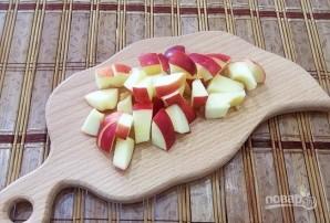 Горячие бутерброды с яблоками и сыром - фото шаг 1