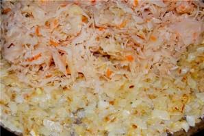 Мясо с капустой в духовке - фото шаг 4