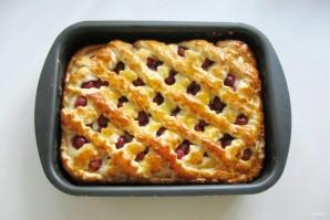Сдобный пирог с вишней - фото шаг 10