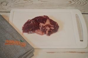 Говяжий стейк с луковой приправой - фото шаг 5