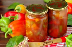 Лечо с томатным соком - фото шаг 8
