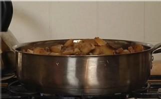 Грибной суп в бородинском хлебе - фото шаг 3
