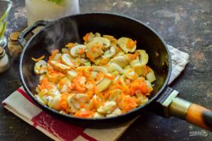 Гречневый суп с шампиньонами - фото шаг 6