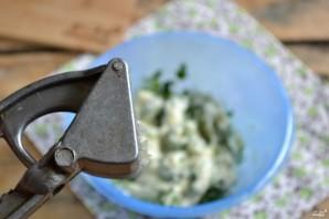 Зеленый чесночный соус - фото шаг 3