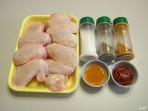 Куриные крылышки в медовом соусе - фото шаг 1
