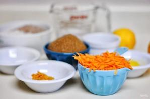 Морковные маффины с кокосом - фото шаг 1