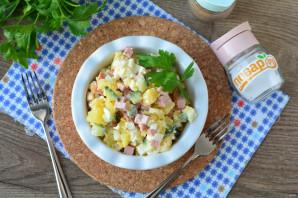 Салат из замороженных огурцов
