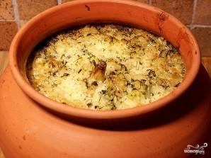 Рис с грибами в горшочках - фото шаг 8