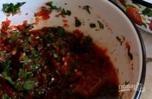 Малосольные помидоры по-корейски - фото шаг 3