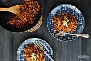 Жареный пряный рис - фото шаг 8