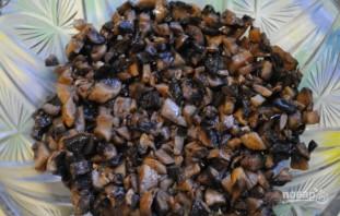 Вкусный салат с грибами - фото шаг 2