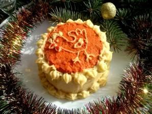 """Новогодний торт """"Кукареку"""" - фото шаг 9"""