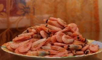 Креветки с сыром - фото шаг 1