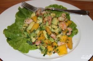 Салат из манго с креветками - фото шаг 6