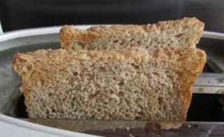 Бутерброды в виде божьей коровки - фото шаг 5