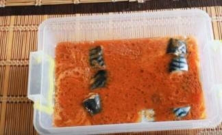 Рыба хе из скумбрии - фото шаг 4