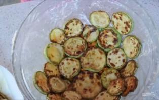 Овощной тортик-закуска с кабачками - фото шаг 3