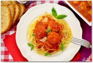 Куриные фрикадельки в томатном соусе - фото шаг 10