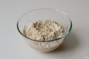 Гречневый хлеб в духовке - фото шаг 3