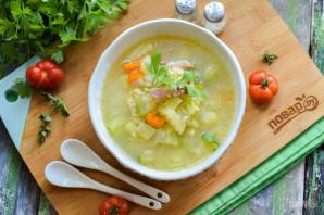 Суп с булгуром и кабачком - фото шаг 8