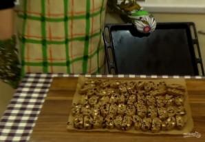 Бискотти с изюмом и шоколадом - фото шаг 4