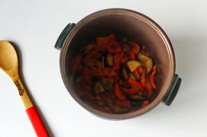 Кус-кус с овощами в мультиварке - фото шаг 5