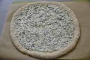 Пицца с зеленью и сыром - фото шаг 14