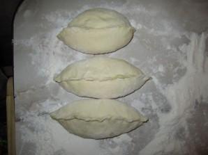 Пирожки печеные с мясом - фото шаг 5